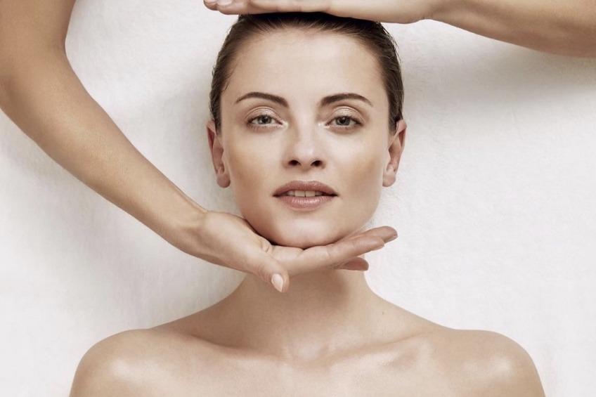 Foto huidverzorging
